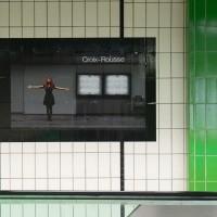Photos dans le métro de Lyon