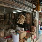 Canton - marché plantes médicinales chinoises