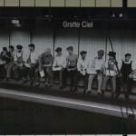 métro de Lyon - gratte ciel