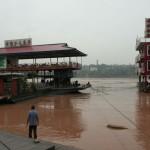 Chongqing - fleuve Jialing jiang