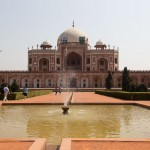 New Delhi - tombeau d' Humayun